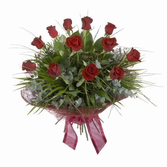 Etkileyici buket 11 adet kirmizi gül buketi  Kütahya güvenli kaliteli hızlı çiçek