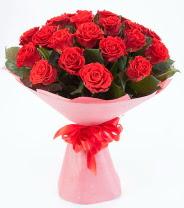 12 adet kırmızı gül buketi  Kütahya kaliteli taze ve ucuz çiçekler