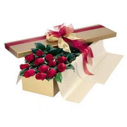 Kütahya çiçek yolla  10 adet kutu özel kutu