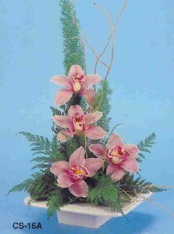 Kütahya 14 şubat sevgililer günü çiçek  vazoda 4 adet orkide