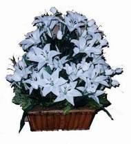 yapay karisik çiçek sepeti   Kütahya İnternetten çiçek siparişi