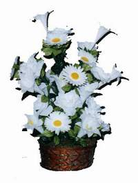 yapay karisik çiçek sepeti  Kütahya çiçek yolla , çiçek gönder , çiçekçi