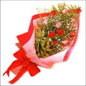 12 adet renkli  gül buketi   Kütahya çiçek mağazası , çiçekçi adresleri