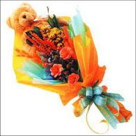 ayicik gül ve kir çiçekleri   Kütahya çiçek mağazası , çiçekçi adresleri