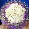 71 adet beyaz gül buketi   Kütahya hediye sevgilime hediye çiçek
