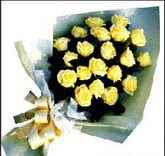 sari güllerden sade buket  Kütahya hediye sevgilime hediye çiçek