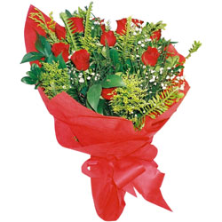 11 adet gül buketi sade ve görsel  Kütahya çiçek yolla