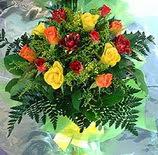 13 adet karisik gül buketi demeti   Kütahya çiçek gönderme