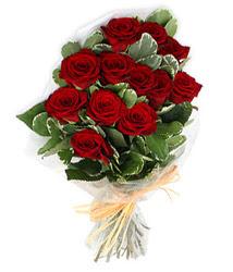 Kütahya çiçek siparişi vermek  9 lu kirmizi gül buketi.