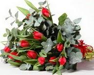 Kütahya anneler günü çiçek yolla  11 adet kirmizi gül buketi özel günler için