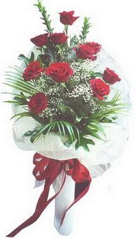 Kütahya çiçek servisi , çiçekçi adresleri  10 adet kirmizi gülden buket tanzimi özel anlara