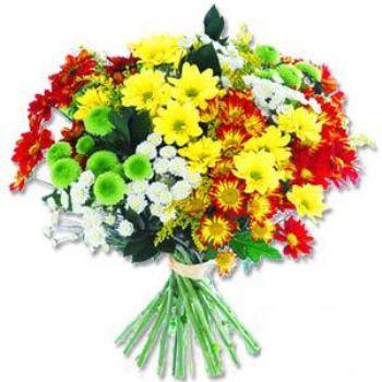 Kir çiçeklerinden buket modeli  Kütahya İnternetten çiçek siparişi