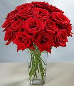 Kütahya kaliteli taze ve ucuz çiçekler  Sevdiklerinize özel ürün 12 adet cam içerisinde kirmizi gül  Kütahya çiçek servisi , çiçekçi adresleri