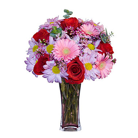 Görsel hediye karisik cam mevsim demeti  Kütahya çiçek mağazası , çiçekçi adresleri