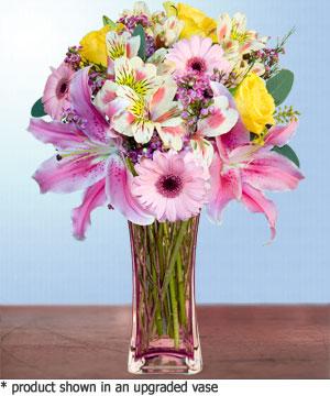 Anneme hediye karisik cam mevsim demeti  Kütahya online çiçekçi , çiçek siparişi