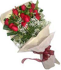 11 adet kirmizi güllerden özel buket  Kütahya online çiçekçi , çiçek siparişi