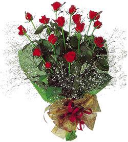 11 adet kirmizi gül buketi özel hediyelik  Kütahya çiçek mağazası , çiçekçi adresleri