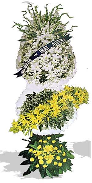 Dügün nikah açilis çiçekleri sepet modeli  Kütahya hediye sevgilime hediye çiçek