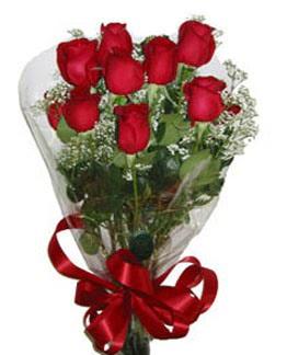 Çiçek sade gül buketi 7 güllü buket  Kütahya İnternetten çiçek siparişi