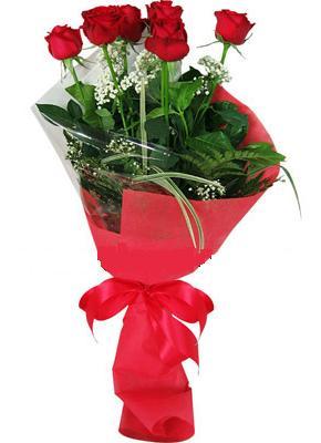 7 adet kirmizi gül buketi  Kütahya çiçek siparişi vermek