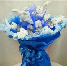 7 adet pelus ayicik buketi  Kütahya hediye sevgilime hediye çiçek
