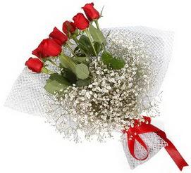 7 adet essiz kalitede kirmizi gül buketi  Kütahya çiçek , çiçekçi , çiçekçilik