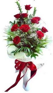 Kütahya çiçek online çiçek siparişi  10 adet kirmizi gül buketi demeti