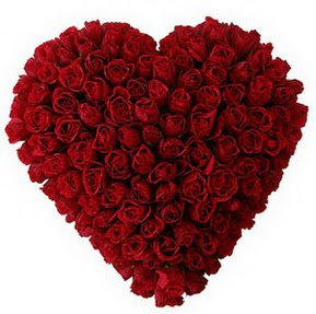 Kütahya çiçek mağazası , çiçekçi adresleri  muhteşem kırmızı güllerden kalp çiçeği