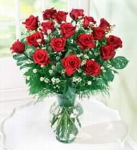 Kütahya güvenli kaliteli hızlı çiçek  9 adet mika yada vazoda kirmizi güller