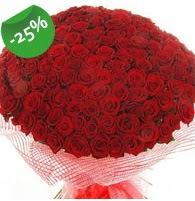 151 adet sevdiğime özel kırmızı gül buketi  Kütahya kaliteli taze ve ucuz çiçekler