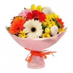 Karışık mevsim buketi Mevsimsel çiçek  Kütahya online çiçekçi , çiçek siparişi