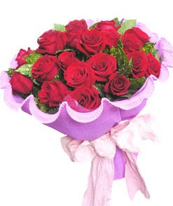 12 adet kırmızı gülden görsel buket  Kütahya çiçek mağazası , çiçekçi adresleri