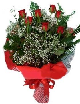 7 kırmızı gül buketi  Kütahya hediye çiçek yolla