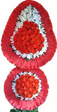 Kütahya İnternetten çiçek siparişi  Çift katlı kaliteli düğün açılış sepeti