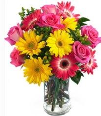 Vazoda Karışık mevsim çiçeği  Kütahya çiçek mağazası , çiçekçi adresleri