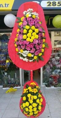 Çift katlı düğün nikah açılış çiçek modeli  Kütahya İnternetten çiçek siparişi