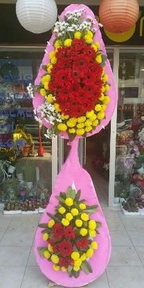 Çift katlı düğün nikah açılış çiçek modeli  Kütahya yurtiçi ve yurtdışı çiçek siparişi