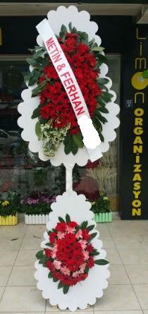 Çift katlı düğün nikah çiçeği modeli  Kütahya kaliteli taze ve ucuz çiçekler