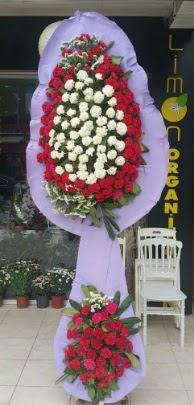 Çift katlı işyeri açılış çiçek modeli  Kütahya çiçek online çiçek siparişi