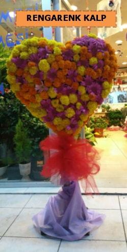Ankara mevsim çiçeklerinden kalp perförje  Kütahya 14 şubat sevgililer günü çiçek