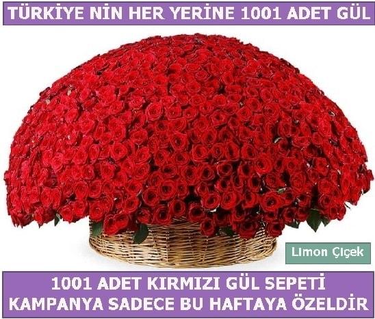 1001 Adet kırmızı gül Bu haftaya özel  Kütahya online çiçek gönderme sipariş