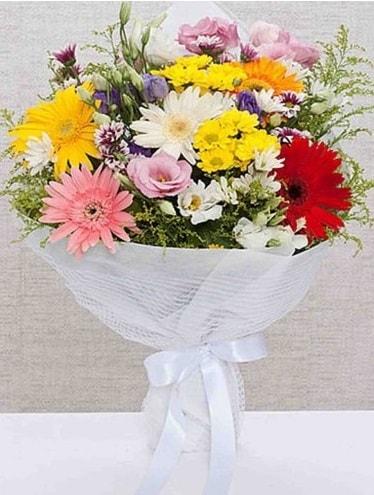 Karışık Mevsim Buketleri  Kütahya çiçek online çiçek siparişi