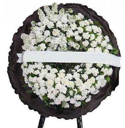 Cenaze çelengi çiçeği modelleri  Kütahya güvenli kaliteli hızlı çiçek