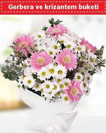 Papatya ve Gerbera Buketi  Kütahya hediye sevgilime hediye çiçek