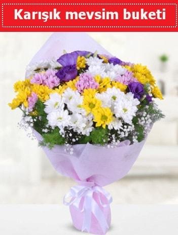 Karışık Kır Çiçeği Buketi  Kütahya internetten çiçek satışı