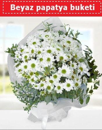 Beyaz Papatya Buketi  Kütahya çiçekçi telefonları