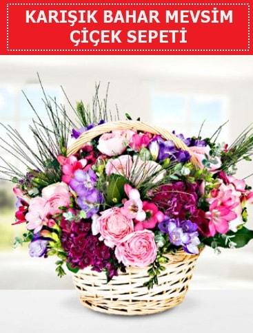 Karışık mevsim bahar çiçekleri  Kütahya çiçek online çiçek siparişi