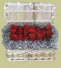 Kütahya çiçek yolla  Sandikta 11 adet güller - sevdiklerinize en ideal seçim